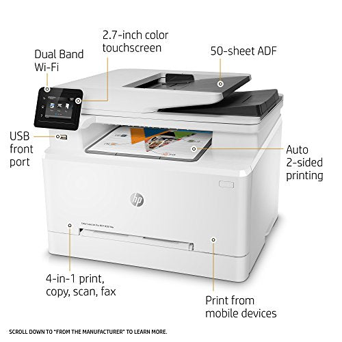 HP Printer Color Laserjet Pro Mfp M281Fdn (T6B81A) - tharmart.com
