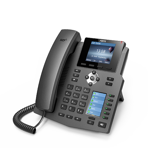 Fanvil X4G 4 Line Enterprise Gigabit IP Phone - tharmart.com