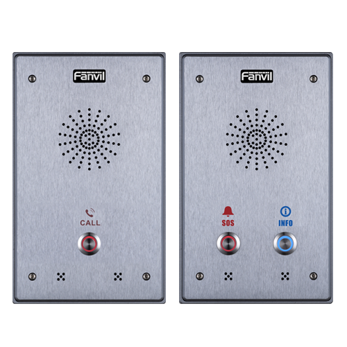 Fanvil i12 SIP Intercom - Dual Button - tharmart.com