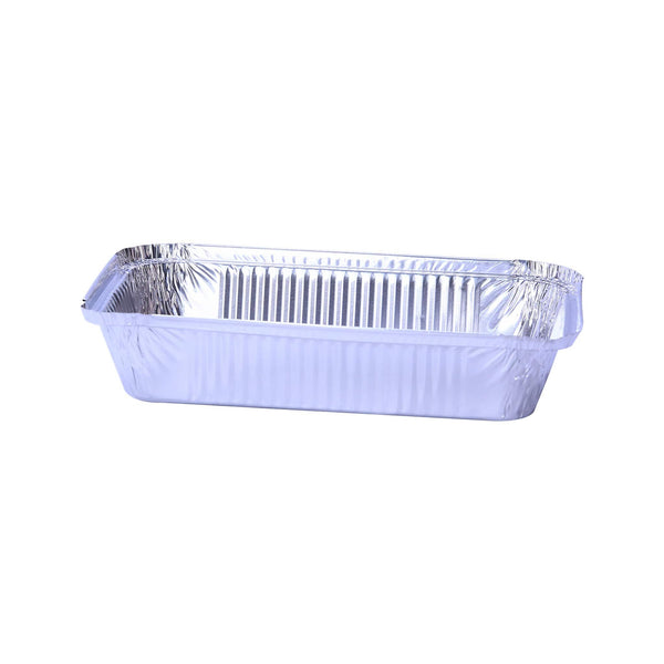 Hotpack | Aluminium Container Base Only 210x140x38mm (Economy) | 1000 Pieces