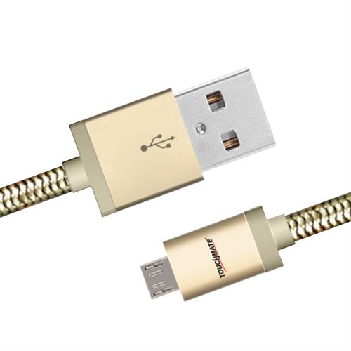 TOUCHMATE TM-USB2MM  USB - Charge & Data Cable (Android) - tharmart.com
