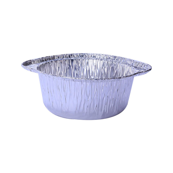 Hotpack | Aluminium POT Container With Hood 21cm | 200 Sets