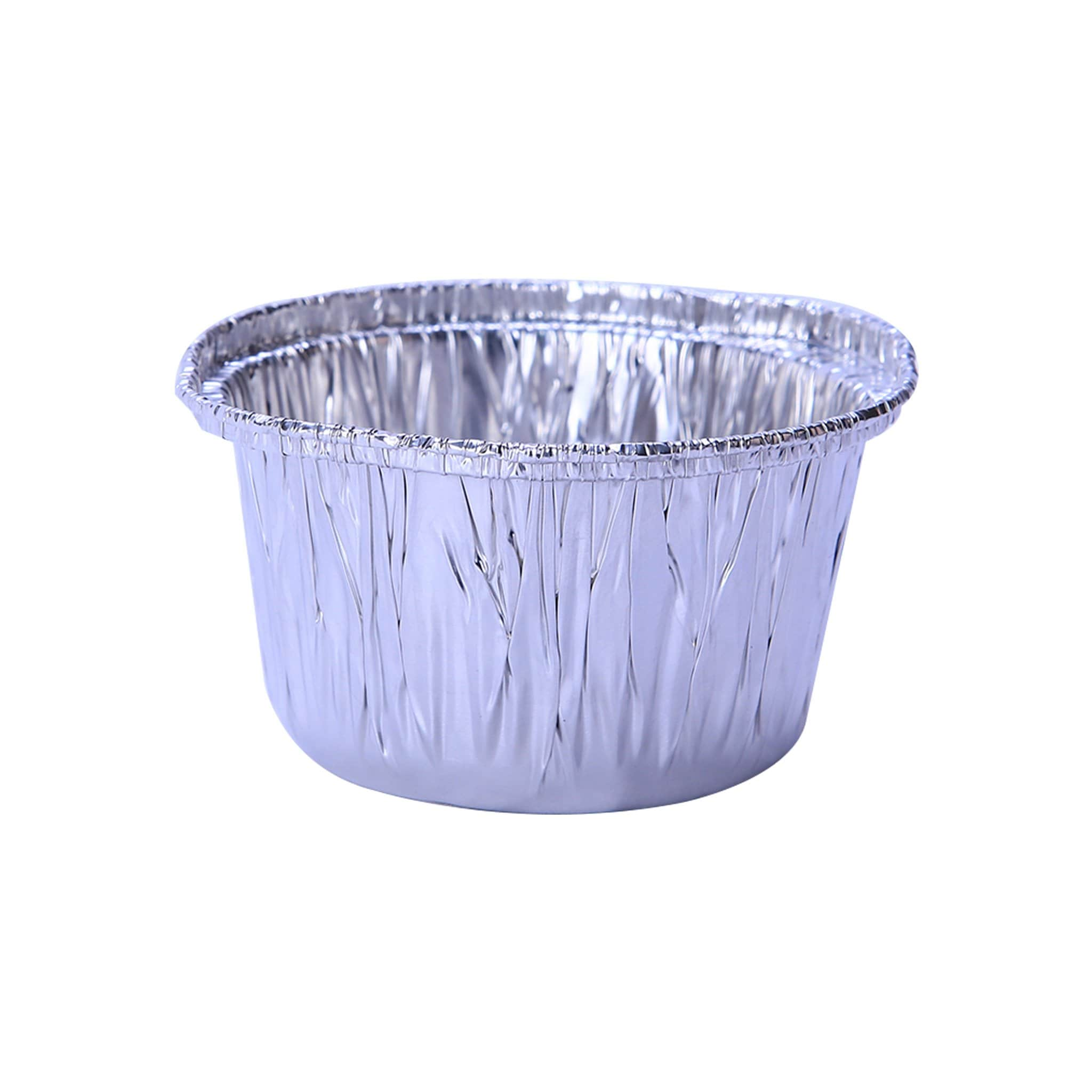 Hotpack | Aluminium POT Container With Hood 9cm | 600 Sets