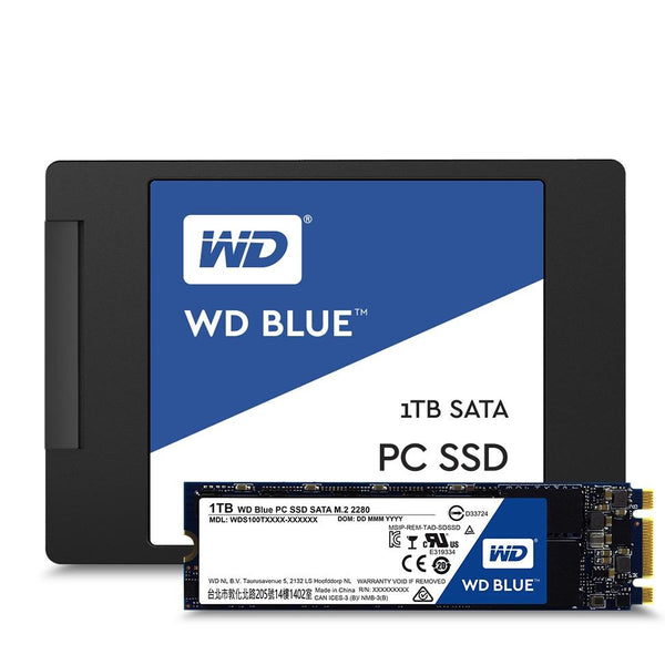 Western Digital (WD) Blue Pc SSD 1TB SATA 6GB S 2.5Inch 7Mm Western Digital (WD) Western Digital (WD)s10G2B0A - tharmart.com