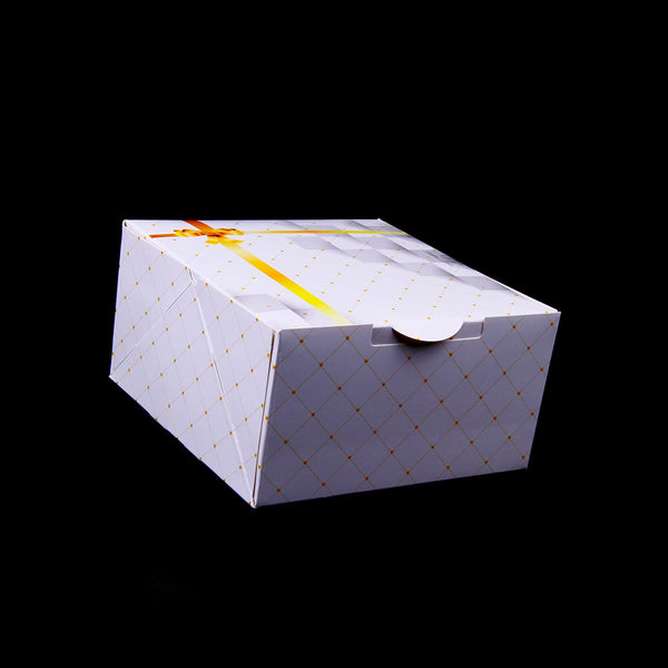 Hotpack | 20x20 PRINTED CAKE BOX  | 100 Pieces