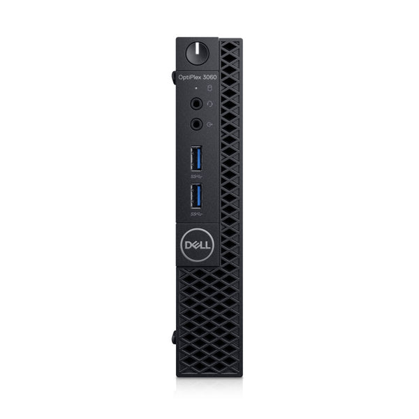 OptiPlex 3060 Mini Tower , Intel Core i3-8100 (3.6GHZ/4C/6MB/8TH GEN), 4GB (1x4GB) 2400MHz DDR4 Memory, 1TB SATA, Windows 10 Pro - tharmart.com