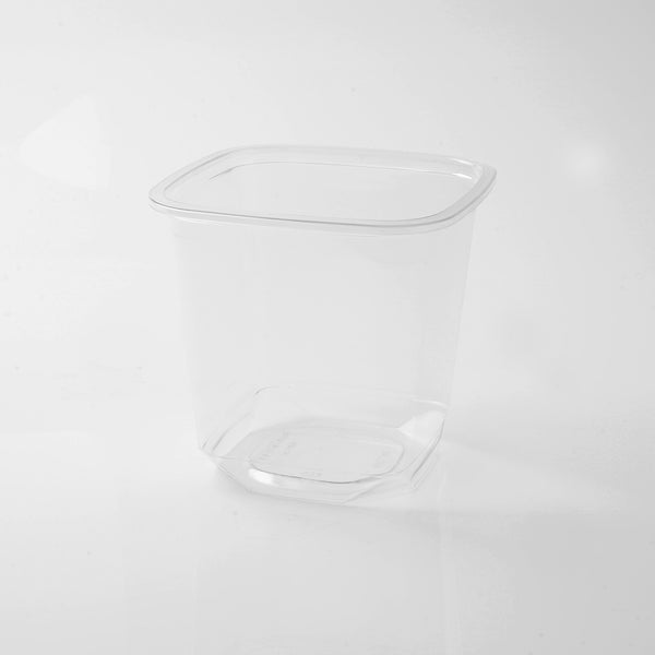 Hotpack | Deli Container Square 24oz - PET | 500 Pieces