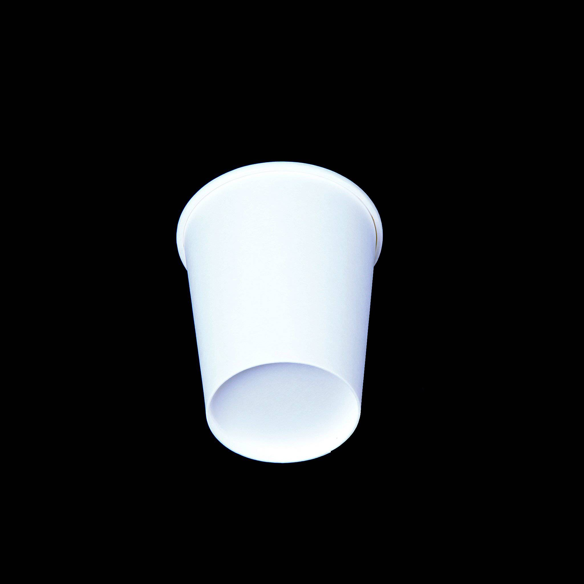 Hotpack | 8 Oz SINGLE WALL PAPER CUP WHITE | 1000 Pieces