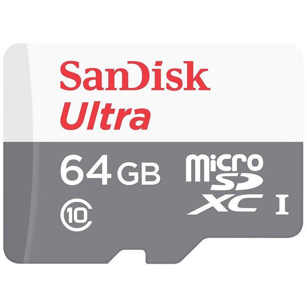 Sandisk Ultra Android MicroSD 64GB 80MB S CLS 10 - tharmart.com