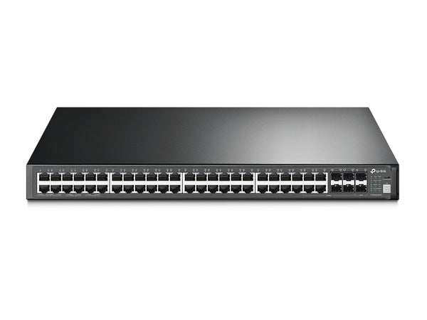 Tp Link JetStream 52-Port Gigabit Stackable L3 Managed Switch T3700G-52TQ - tharmart.com