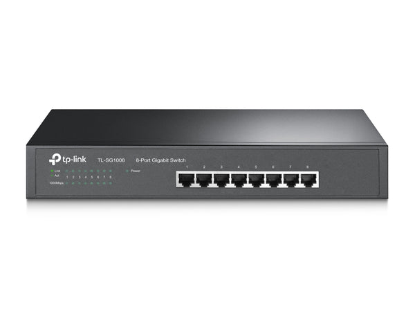 Tp Link 8-Port Gigabit Desktop/Rackmount Switch TL-SG1008 - tharmart.com
