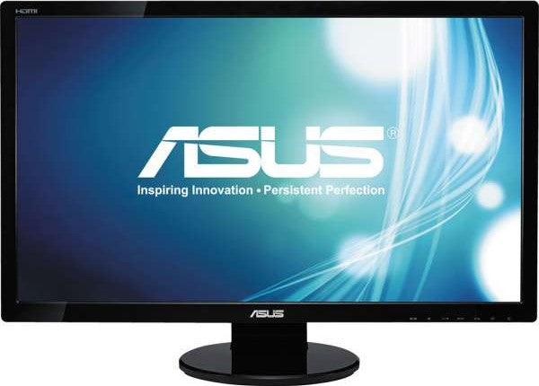 ASUS 27 Inch Full HD 1920x1080 2ms DisplayPort HDMI DVI VGA Monitor | VE278Q - tharmart.com