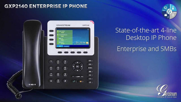 Grandstream GXP2140 HD IP Phone - tharmart.com