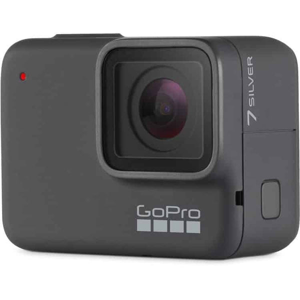 GoPro HERO7 Silver Waterproof Digital Action Camera with Touch Screen 4K HD Video 10MP Photos Memory Not Included | CHDHC 601 - tharmart.com