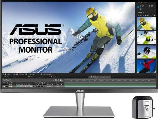 ASUS ProArt PA32UC 4K HDR Professional Monitor  32 inch, 4K, HDR, direct LED, 384 Zones Local Dimming, Rec.2020, 95% DCI P3, Hardware Calibration, Thunderbolt™ 3, Ultra HD Premium™ | PA32UC - tharmart.com