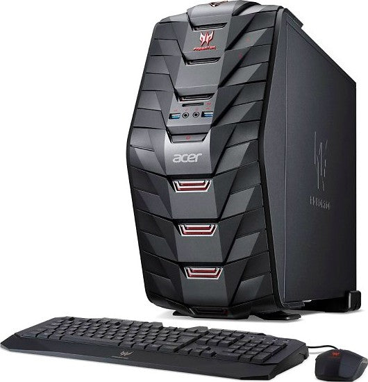 Acer Predator G3 Gaming PC (i7-7700, 1TB HDD+512GB SSD, 16GB RAM, 8GB NVIDIA GTX 1080, Windows 10 Home, English Keyboard and Mouse) | Acer Predator G3 Gaming PC - tharmart.com