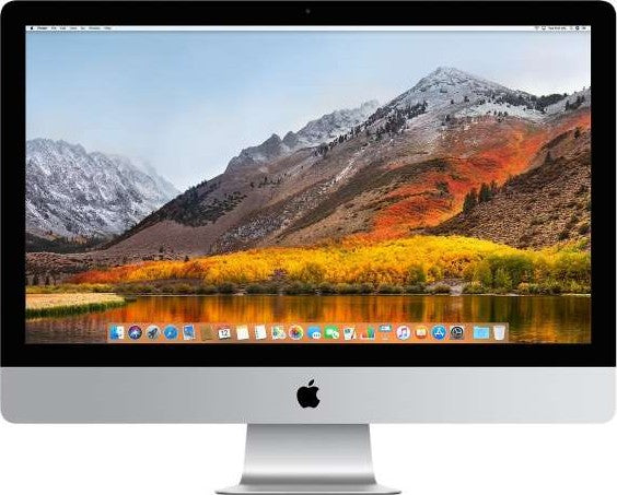Apple iMac 27 Inch 2017 with Retina 5K Display (7th Gen Intel Core i7 4.5GHz 8GB RAM 3TB Fusion 8GB Radeon Pro 580 English KB with FaceTime) | - tharmart.com