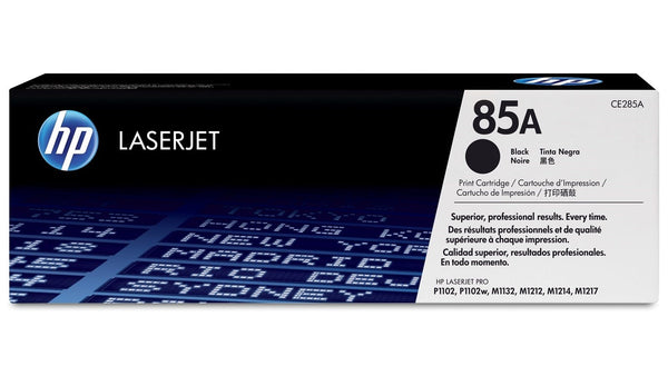 HP 85A Black Original LaserJet Toner Cartridge (CE285A) - tharmart.com