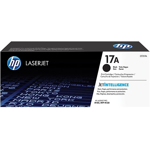 HP 17A Black Original LaserJet Toner Cartridge (CF217A) - tharmart.com