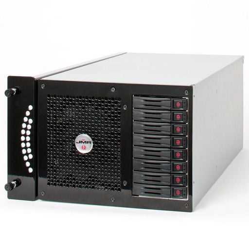 "JMR ""Lightening"" LTNG-XQ-8 (Rack Mount Version) with four PCIe 3.0 x16 Slots and four Thunderbolt 2 ports and 8 hot-swap SAS/SATA drive bays - Black"
