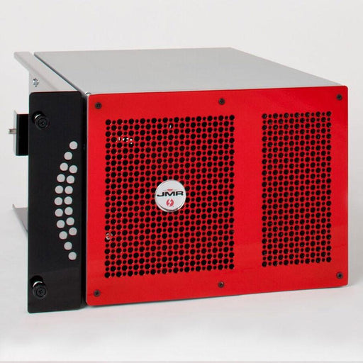 "JMR ""Lightening"" LTNG-XQ (Rack Mount Version) with four PCIe 3.0 x16 Slots and four Thunderbolt 2 ports - Red"