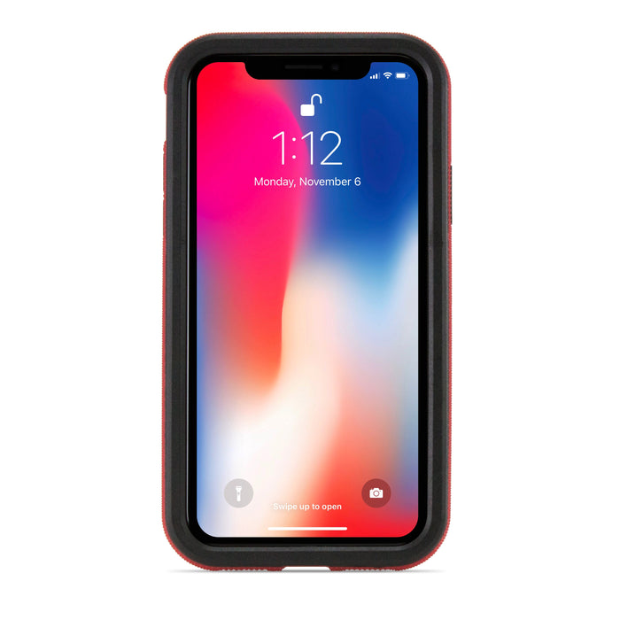 NewerTech NuGuard KX Case for iPhone XS / X (Crimson)