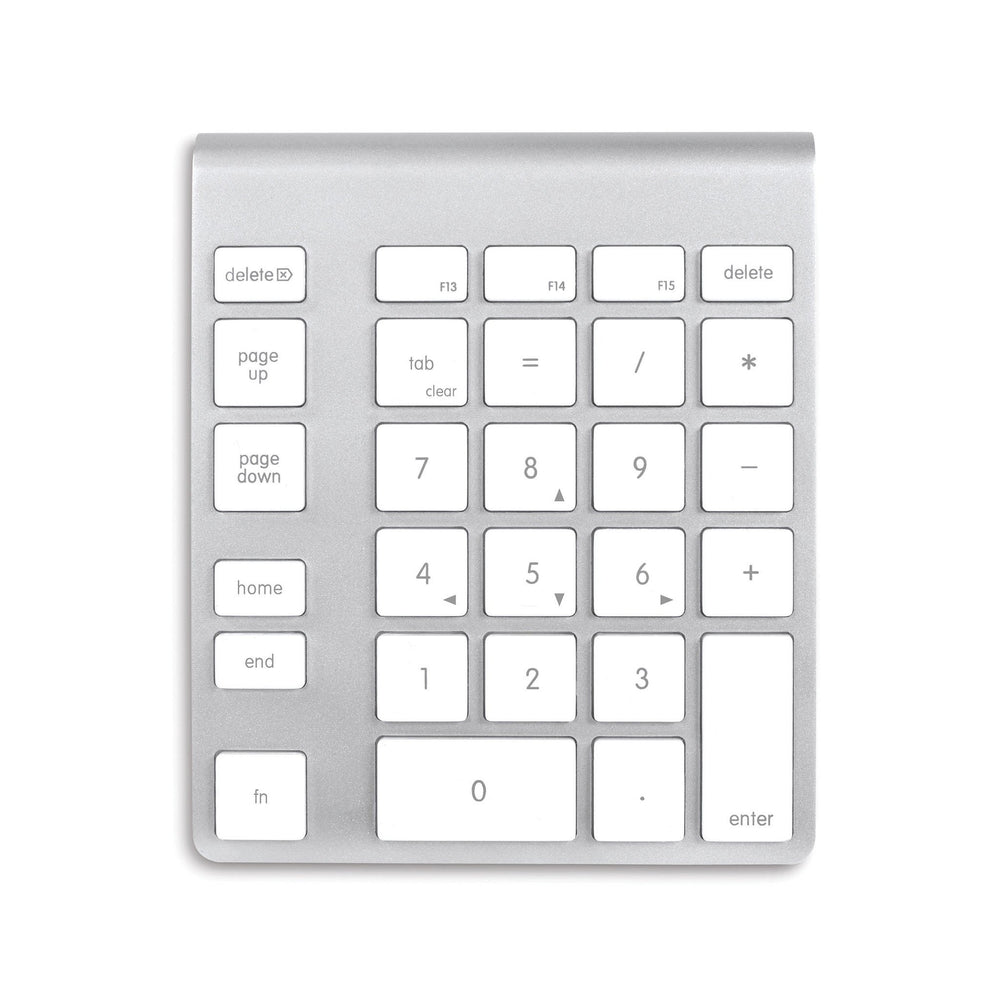 NewerTech Wireless Aluminium Numeric KeyPad - White Keys