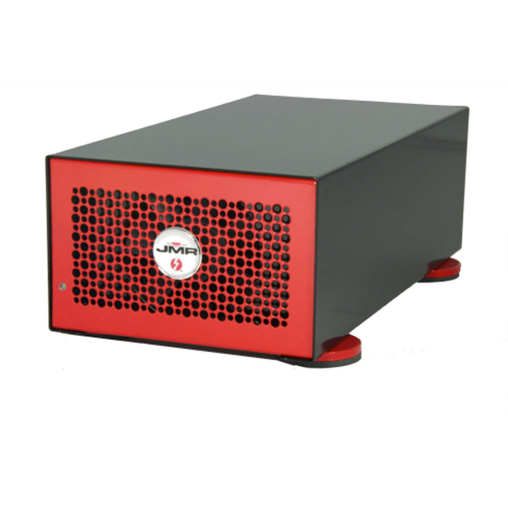 "JMR ""Lightning"" LTNG-XD with two x8 PCIe 3.0 Slots and two Thunderbolt 2 ports - Red"