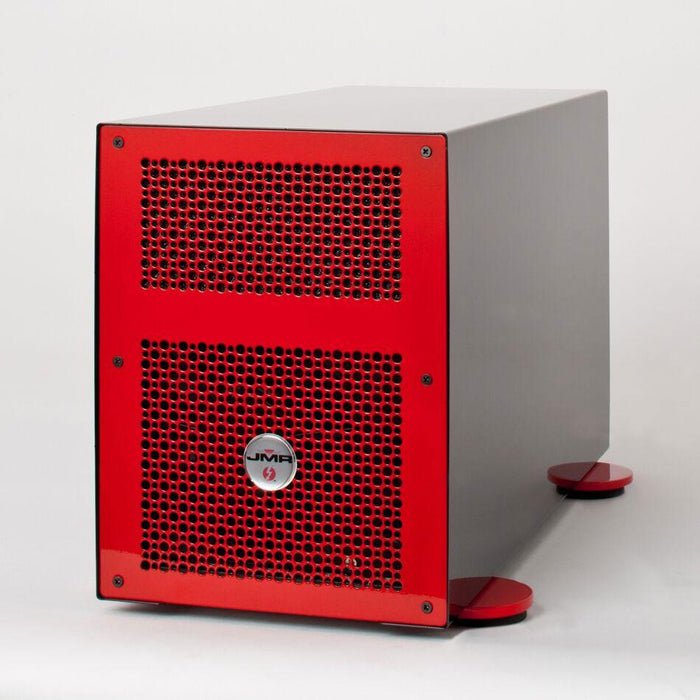 "JMR ""Lightening"" LTNG-XQ (Desktop Version) with four PCIe 3.0 x16 Slots and four Thunderbolt 2 ports - Red"