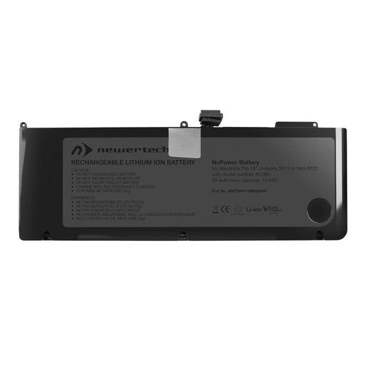 NewerTech NuPower 85W Battery (for MacBook Pro 15-inch Unibody Early & Late 2011, Mid-2012)