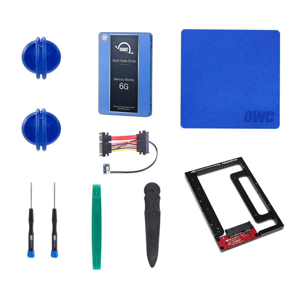 "OWC 250GB 6G SSD and HDD DIY Bundle Kit (for 27"" iMac 2012 and later)"