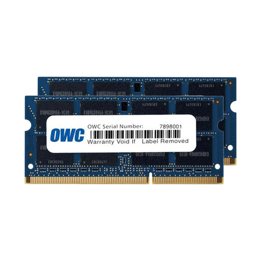 8GB OWC Matched Memory Upgrade Kit (2 x 4GB) 1333MHz PC3-10600 DDR3 SO-DIMM