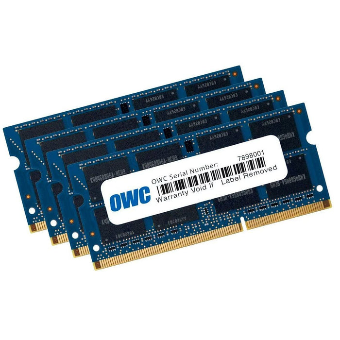 OWC 32GB Matched Memory Upgrade Kit (4 x 8GB) 1066MHz PC3-8500 DDR3 SO-DIMM