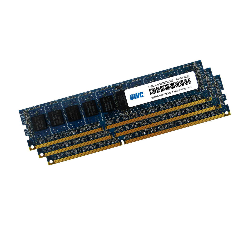 OWC 24GB Matched Memory Upgrade Kit (3 x 8GB) 1866MHz PC3-14900 DDR3 ECC Non-Registered SDRAM