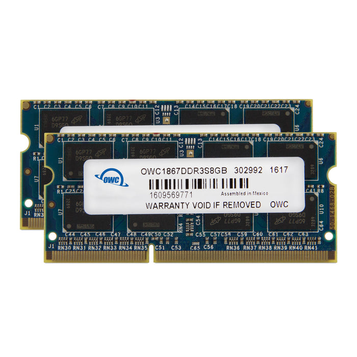 8GB OWC Matched Memory Upgrade Kit (2 x 4GB) 1867MHZ PC3-14900 DDR3 SO-DIMM