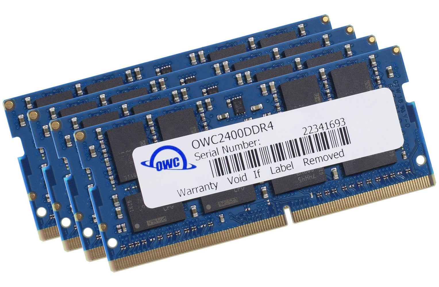 OWC 64GB Matched Memory Kit (4 x 16GB) 2400MHz PC4-19200 DDR4 SO-DIMM