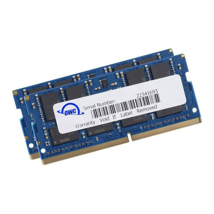 OWC 64GB Matched Memory Upgrade Kit (2 x 32GB) 2400MHz PC4-19200 DDR4 SO-DIMM with Tools and Adhesive Strips