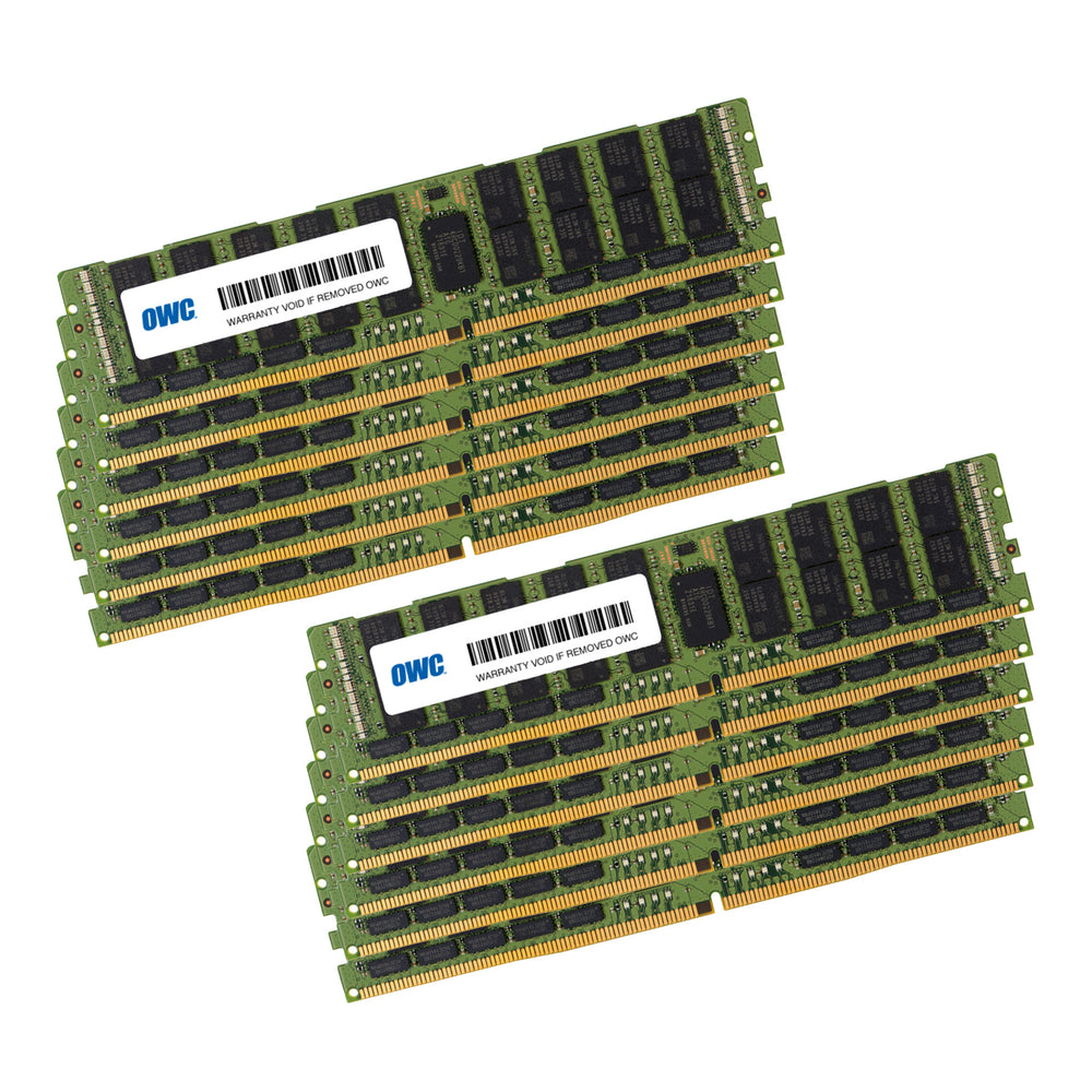 384GB OWC Matched Memory Upgrade Kit (12 x 32GB) 2666MHz PC21300 DDR4 RDIMM