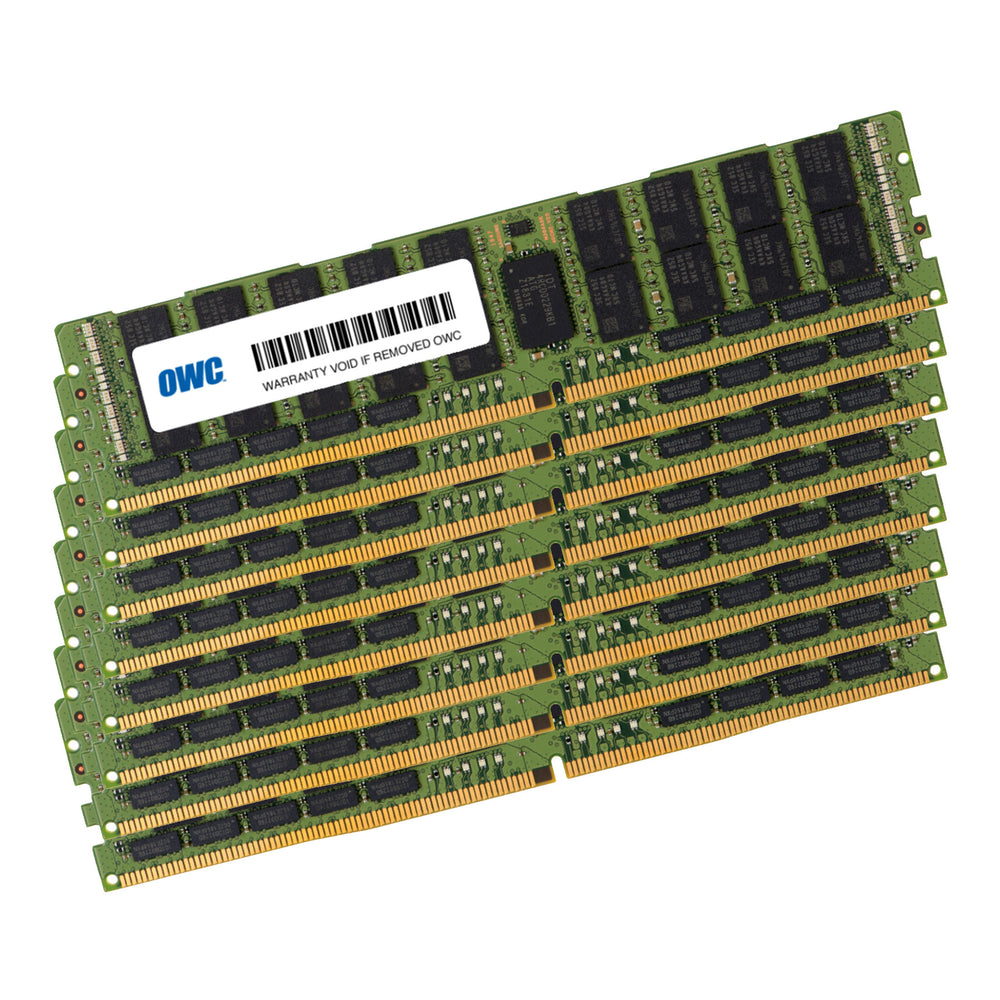 1TB OWC Matched Memory Upgrade Kit (8 x 128GB) 2933MHz PC23400 DDR4 LRDIMM (Load-Reduced)