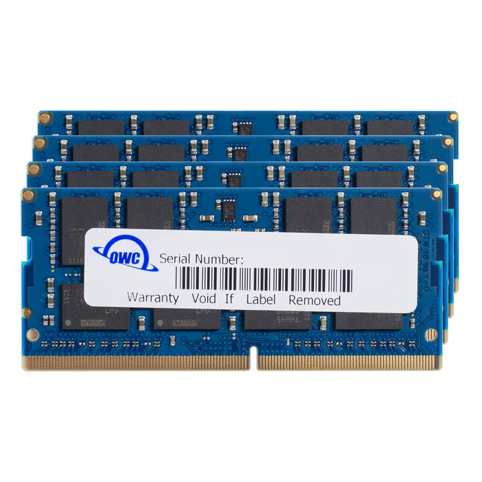 OWC 32GB Matched Memory Kit (4 x 8GB) 2400MHz PC4-19200 DDR4 SO-DIMM