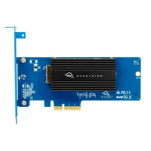 Copy of OWC 480GB Accelsior 1M2 PCIe NVMe SSD Storage Solution