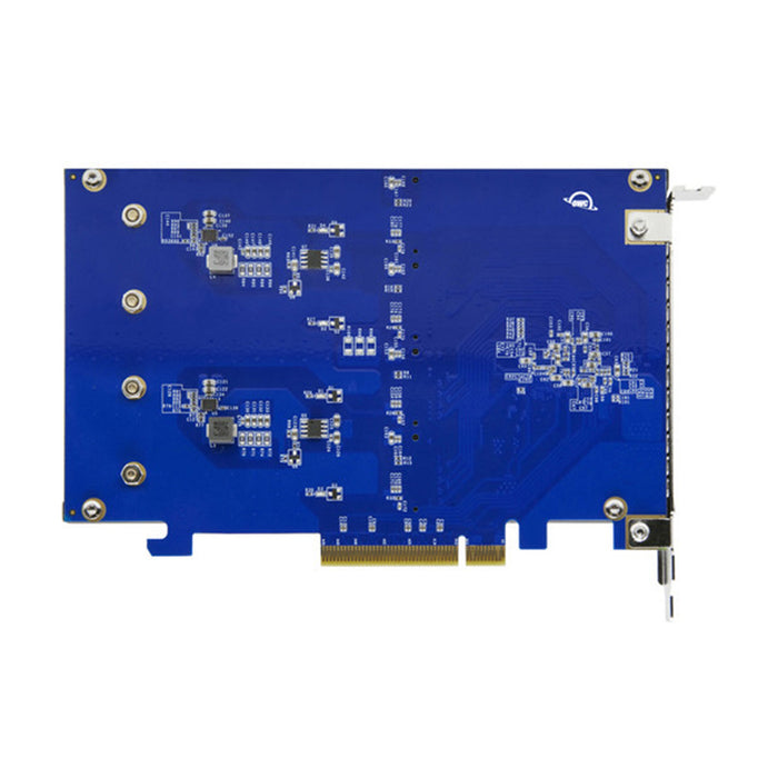 16TB OWC Accelsior 4M2 PCIe M.2 NVMe SSD Adapter Card