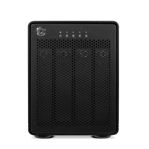 OWC 32TB ThunderBay 4 (Thunderbolt 2 Model) with Dual Thunderbolt 2 Ports and SoftRAID XT Lite