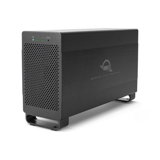 OWC 20TB HDD Mercury Elite Pro Dual Performance RAID Storage Solution (with Thunderbolt 2 and USB 3.1 ports)