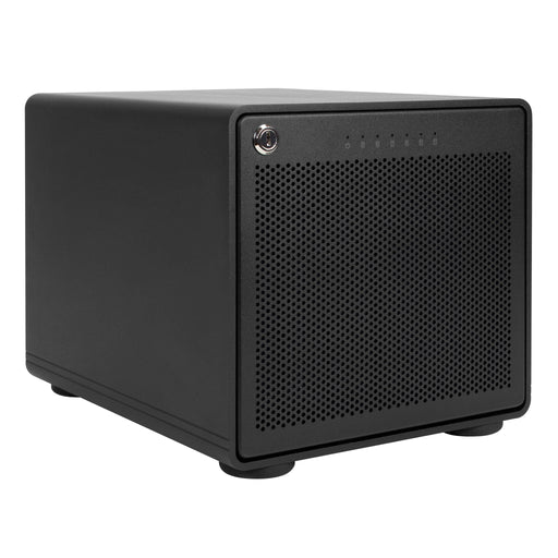"OWC ThunderBay 6 - External Storage Enclosure with 6 3.5""/2.5"" Drive Bays, M.2 Slot and Dual Thunderbolt 3 Ports with SoftRAID XT Lite"