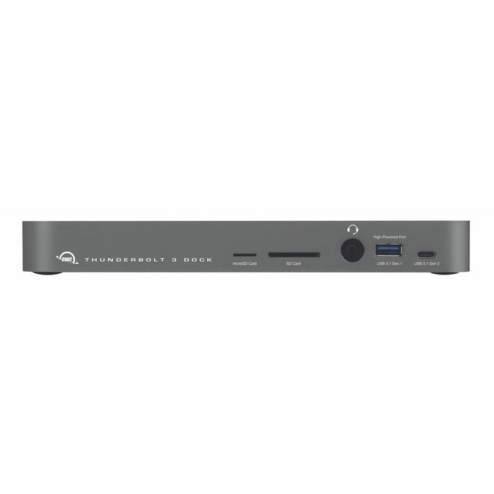 OWC 14-Port Thunderbolt 3 Dock - Space Grey