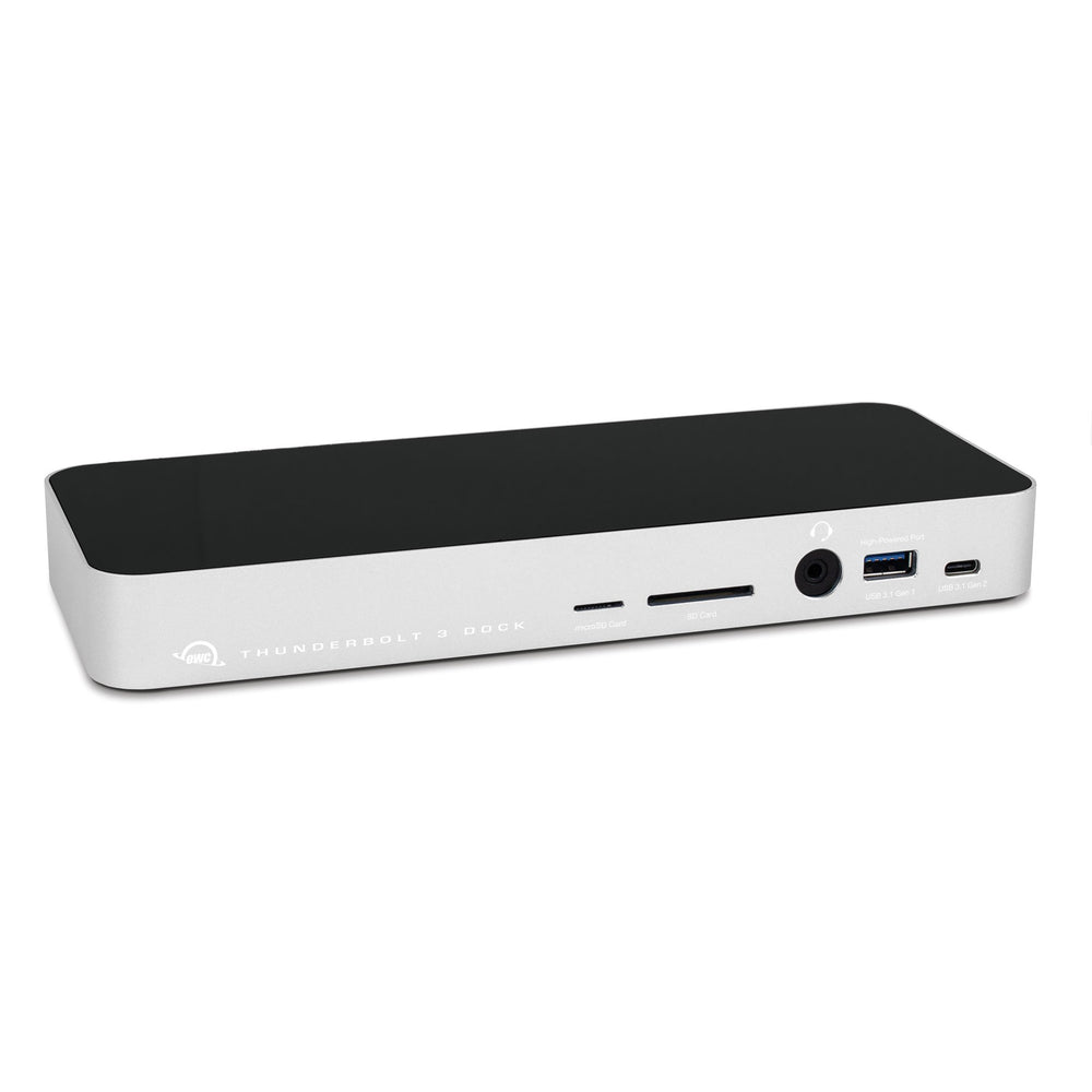 OWC 14-Port Thunderbolt 3 Dock with Cable - Silver