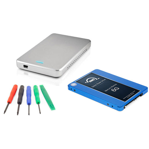 "OWC 1TB Mercury Electra 6G 2.5"" SSD, Express Enclosure & Toolkit DIY Upgrade Bundle"