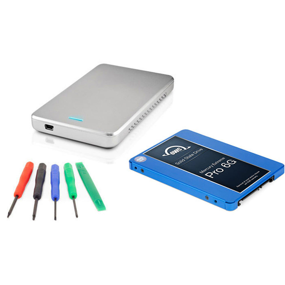 "OWC 2TB Mercury Extreme 6G 2.5"" SSD, Express Enclosure & Toolkit DIY Upgrade Bundle"