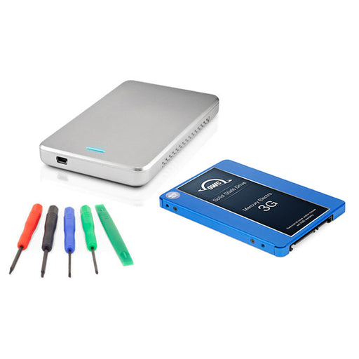 "OWC 250GB Mercury Electra 3G 2.5"" SSD, Express Enclosure & Toolkit DIY Upgrade Bundle"